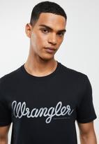 Wrangler - Classic tee - black