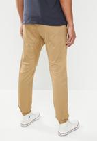 Cotton On - Drake cuffed pant - stone