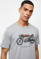 Holmes Bro's - Grand prix - dirty grey melange