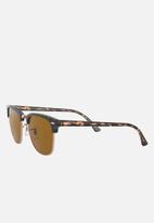 Ray-Ban - Clubmaster 51mm - b-15 brown