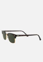 Ray-Ban - Clubmaster square 52mm - g-15 green