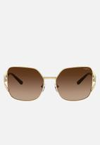 Vogue - Vogue pillow sunglasses - brown gradient