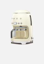 smeg - Drip filter coffee machine - cream