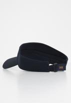 POLO - Paris cotton twill visor - navy