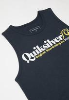 Quiksilver - Check yo self tank youth - navy