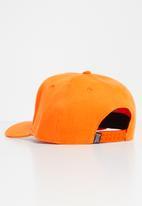 Lonsdale - Peak cap lion logo - orange
