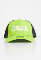 Lonsdale - Peak cap - green & black
