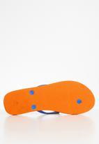 POLO - Elizabeth paisley flip flop - orange