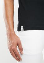 Replay - Basic jersey 30/1 tee - black