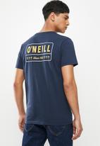 O'Neill - Springs short sleeve tee - navy