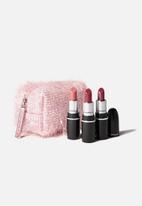 MAC - Fireworked Like a Charm Mini Lipstick Kit - Pink