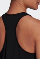 adidas Performance - Lin slim tank top -  black