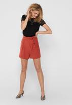 ONLY - Amanda shorts - rust