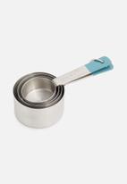 Jamie Oliver - Jamie oliver measuring cups - silver