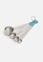 Jamie Oliver - Jamie oliver measuring spoons - silver