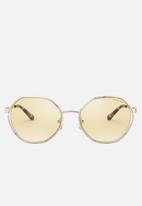 Michael Kors - Porto irregular sunglasses - gold