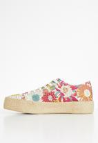 Plum - Zamia sneaker - multi