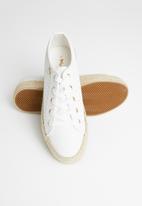 Plum - Zamia sneaker - white