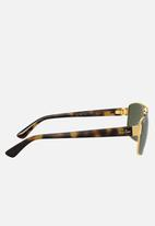 Ray-Ban - 0rb3663 60mm - g-15 - green