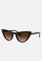 Vogue - Vogue cat eye sunglasses - brown gradient