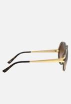 Vogue - Vogue round sunglasses - brown gradient