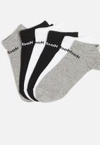 Reebok - Act core 6 pack no show socks - multi