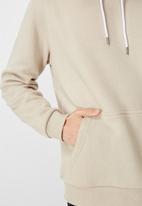 Factorie - Basic hoodie - beige