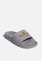 adidas Originals - Adilette lite w - glory grey & gold met.