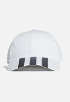adidas Originals - 3-Stripes baseball cap- white & black