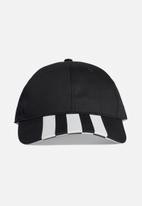adidas Originals - 3-Stripes baseball cap - black & white