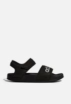 adidas Originals - Adilette sliders - core black & cloud white
