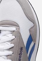 Reebok - Reebok royal cl jog - white / powder grey / blue blast