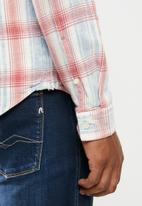 Replay - Yarn dyed check shirt - multi