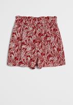 MANGO - Didi shorts - red