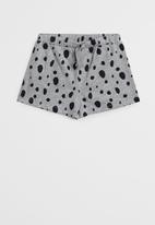 MANGO - Girls Dalmatian pyjamas - black & grey