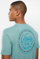 Vissla  - Common wealth tee - jade