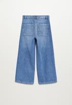 MANGO - Culotte jeans - open blue