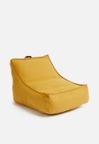 Sixth Floor - Bean bag chair - mustard