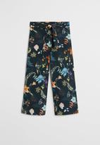 MANGO - Lucia trousers - navy