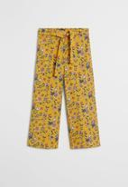 MANGO - Lucia trousers - yellow