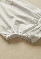 MANGO - Infants Jamie romper - white melange
