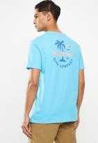 Billabong  - Vacation short sleeve tee - blue