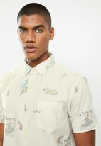 Vissla  - Summer vacation short sleeve eco shirt - bone