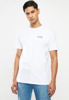 Billabong  - Arch wave short sleeve tee - white