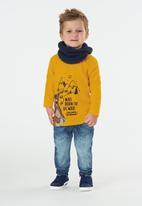 UP Baby - Single jersey long sleeve tee - mustard