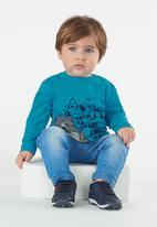 UP Baby - Single jersey long sleeve tee - blue