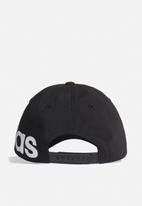 adidas Performance - Baseball bold cap - black & white