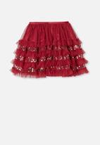 Cotton On - Trixiebelle dress up skirt - burgundy