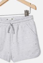 Cotton On - Nina knit short - summer grey marle