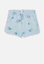 Cotton On - Nina knit short - frosty blue marle